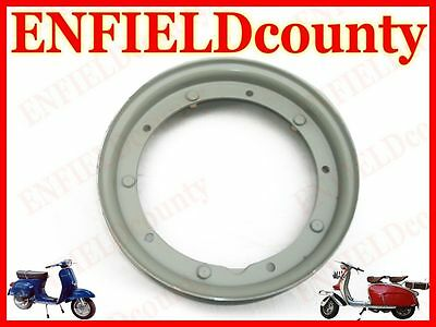 "Brand New Vespa Grey Primer Coated 10"" Wheel Rim Px Pe Lml T5 Rally Sprint @cad"