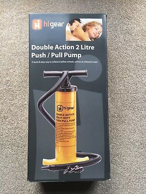 Higear Double Action 2 Litre Push Pull Pump