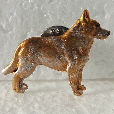 Australian Cattle Dog Red with Ticking Lapel Pin Dog Breed Jewellery Handpainted