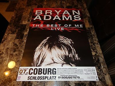 Bryan Adams Rare 2000 Best Of Me Tour Coburg Germany Concert Show Gig Poster NEW