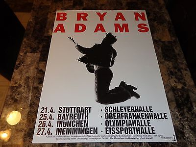 Bryan Adams Rare Authentic 18 Till I Die 1997 German Tour Concert Show Poster !!