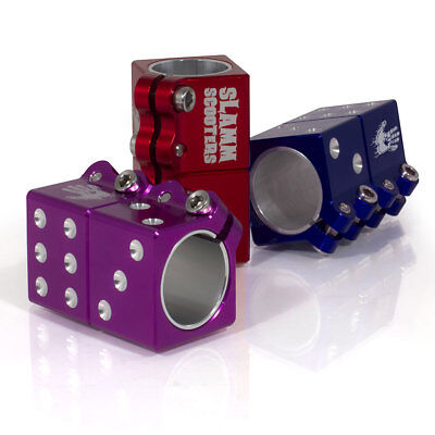 Slamm Scooter Dice Clamp, 3 Colours