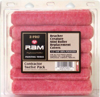 Premier 6-1/2-Inch All Purpose Mini-Roller Cover 65072, 10-Pack