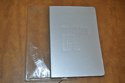RARE NEW Hanson Fanson For Life GRAY JOURNAL!