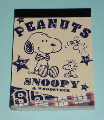 Original Peanuts Snoopy (Mini) Memo Pad /100 sheets /2design x50 sheets