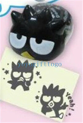 2017 Sanrio Badtz Maru XO 2 Style PVC Rubber Stamper Stamps