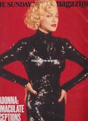 Madonna / Immaculate Deceptions 1990  /  Uk One Day Magazine