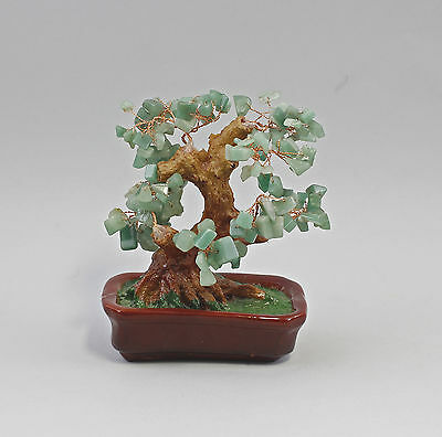 Jade-tree Bonsai-Form Jade stones as Leaves 99825446