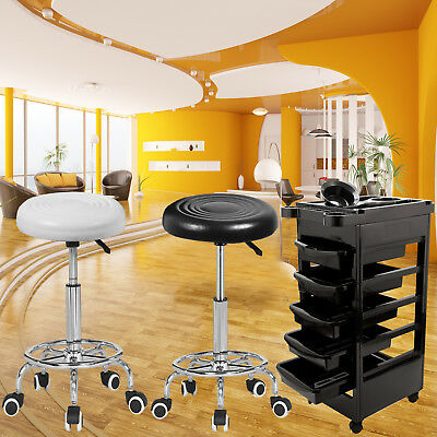 ADJUSTABLE Beauty Salon Stool Barber Hairdressing Massage Tattoo Manicure Chair