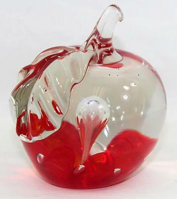 Antique St. Clair Apple Paperweight
