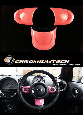 MK2 MINI Cooper/S/ONE R56 R55 R57 R58 R59 R60 PINK NON MF Steering Wheel Cover