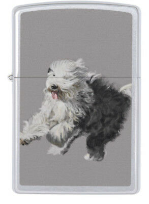 Zippo Lighter - Old English Sheepdog