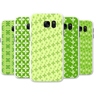 Gorgeous Green Plant Floral Patterns Hard Case Phone Cover for Samsung Phones