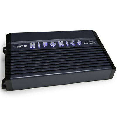 Hifonics TMA-400.4 400 Watt 4-Channel Marine Boat ATV Amplifier Class A/B Amp