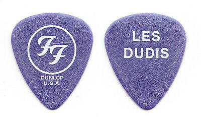 Foo Fighters Dave Grohl Les Dudis Blue Guitar Pick - 2004 One By One Tour