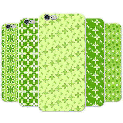 Gorgeous Green Plant Floral Patterns Hard Case Phone Cover for Huawei Phones
