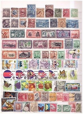 New Zealand unchecked ranges from old collection (3)