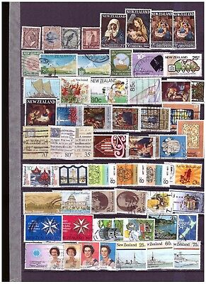 New Zealand unchecked ranges from old collection (4)