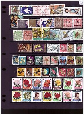 New Zealand unchecked ranges from old collection (5)