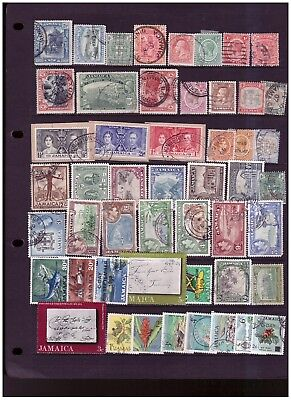 Jamaica unchecked range from old collection