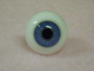Light Blue #57 24mm German Glass Eyes Full Round - Irresistables Exclusive