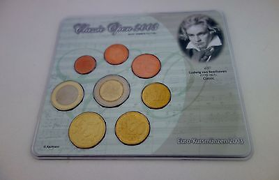 Mini Set  KMS ALLEMAGNE 2003 - CLASSIC OPEN II - BEETHOVEN -  100 exemplaires