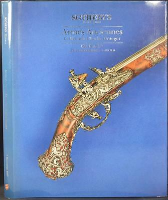 CHARLES DRAEGER ARMES ANCIENNES COLLECTION SOTHEBY'S 1987 Antique Firearms Guns