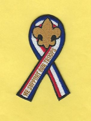 "Bsa ""We Support Our Troops"" Ribbon Patch"