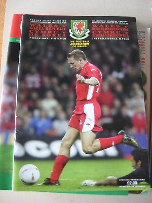 12.2.2003 Wales v Korea Republic International