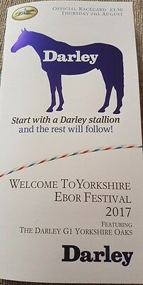 The Yorkshire Oaks 2017 Enable *mint/unopened*