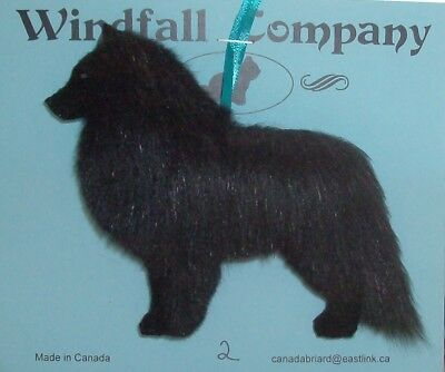 Belgian Sheepdog Dog Plush Christmas Canine Ornament # 2 by WC