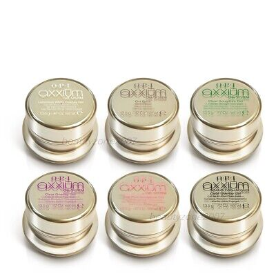 OPI Axxium Gel System - Variety Color 0.47oz / 13.5g *Chose any one*