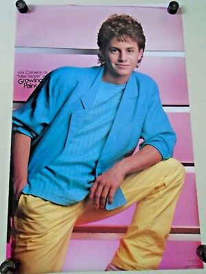 """Growing Pains - Kirk Cameron - Vintage poster  #244 / Exc. New cond./ 21 x 32"""""""