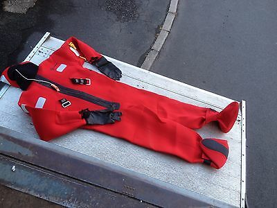 Crewsaver Immersion Suit - Extra Large (XL) + Quick Grab Bag