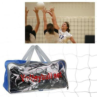 Portable Training Beach Volleyball Badminton Tennis Net With Carrying Bag B8Q8
