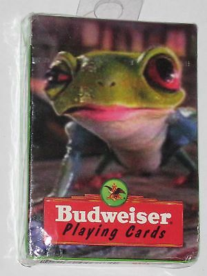 Anheuser-Busch Budweiser Playing Cards Frog 1996