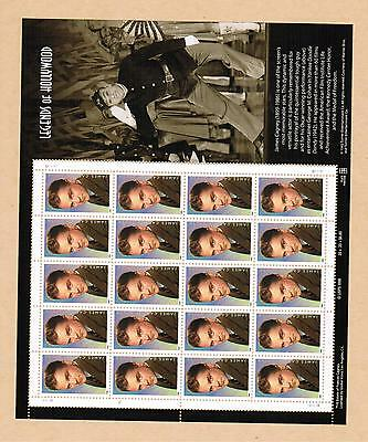 1998 # 3329 ** A2575 Vfnh  Feuillet Timbres  Usa  Sheet Stamps  James Cagney