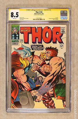 Thor (1962-1996 1st Series Journey Into Mystery) #126 CGC 8.5 SS 1323120003