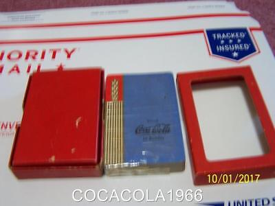 1930 ' S Coca Cola Coke Playing Cards Deck RARE BLUE WHEAT Deck LTD NIB Bottles