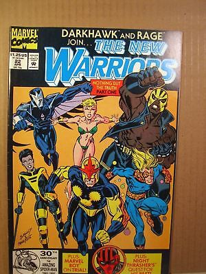 Marvel Comic The New Warriors Lot of 6 Issues 18, 22, 23, 24, 25, 26