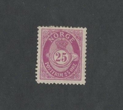 1893 Norway Definitives 25 ore SG 146 mint