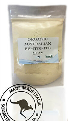 Bentonite Beauty Clay Organically Sourced 100% Australian 25g up to 3Kg Packs