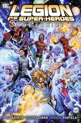 Legion of Super-Heroes The Choice HC (2011) #1-1ST VF