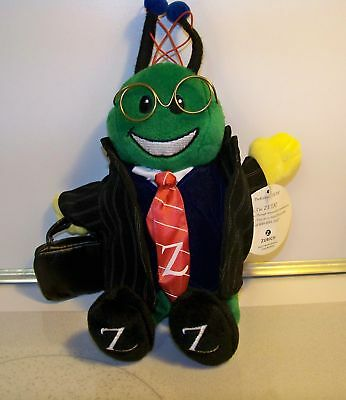"""Zeta The Ant Zurich Promo Plush *very Rare* Dressed In Suit & Tie 10"""" Nwt"""