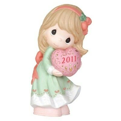 """Precious Moments """"love Is The Best Gift Of All"""" #111001 2011 New * Free Shipping"""