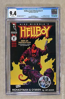 Hellboy Seed of Destruction (1994) #1 CGC 9.4 0325809017