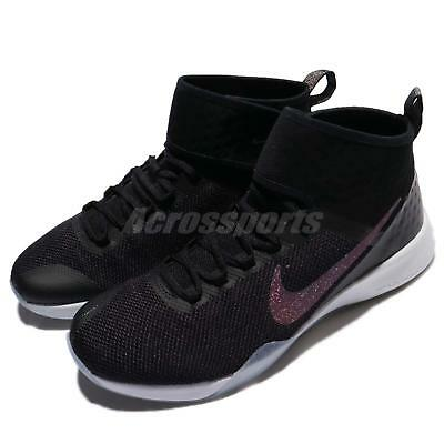30aa9d44cc16 Wmns Nike Air Zoom Strong 2 MTLC Black Metallic Women Training Shoes 922876- 001