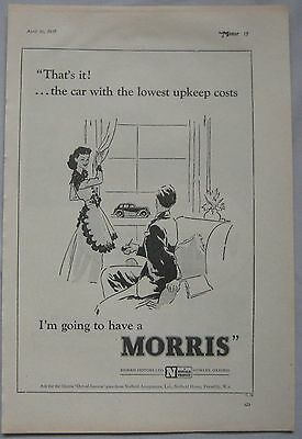 1947 Morris Original advert No.2