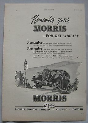 1945 Morris Original advert No.2