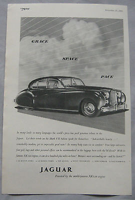 1951 Jaguar Original advert No.1